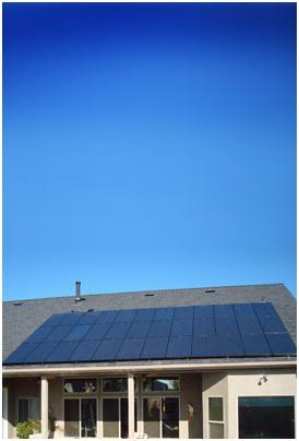 Solar Home Blue Sky